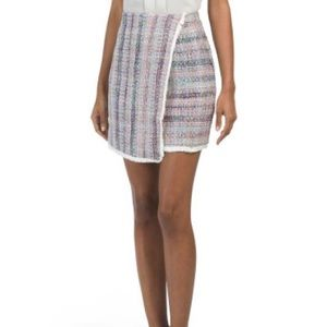 Anthropologie Knit Sweater Boucle Skirt